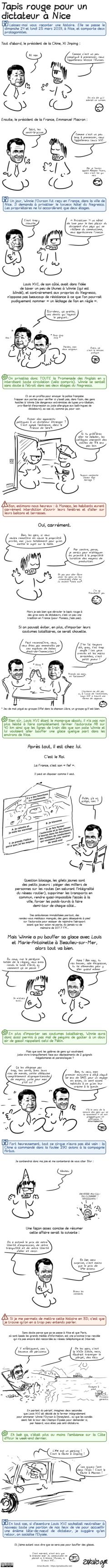 Tapis rouge pour un dictateur à Nice