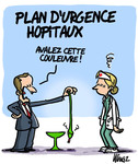 Plan d'urgence hopitaux