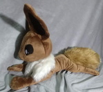 Giant Eevee beanie (for sale)