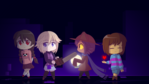 Chibi Pixel Protagonists