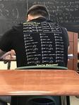 Le mec de devant en classe