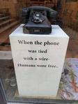 Epoque révolue du téléphone branché