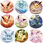Eeveelutions Series Complete!