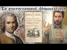 La démocratie ne convient-elle qu'à un peuple de dieux ? (Rousseau)