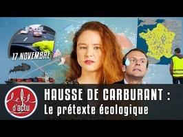 HAUSSE DES CARBURANTS : LE PRÉTEXTE ÉCOLO