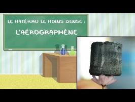 Le super-matériau le moins dense au monde : l'aérographène
