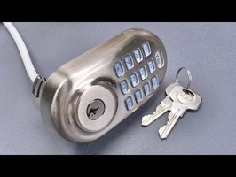 [1100] Yale Assure Electronic Deadbolt Picked (Model YRD-216)