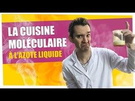 ExperimentBoy : cuisine moléculaire à l'azote liquide - Explosions de saveur ;) - ChimFizz #22
