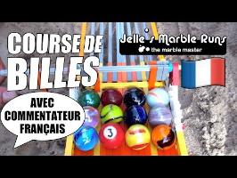 Sand Marble Race 750 feet with French commentary