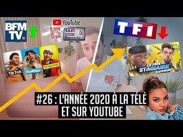 YouTube VS la télé #26 : L'année 2020 à la télé et sur Youtube