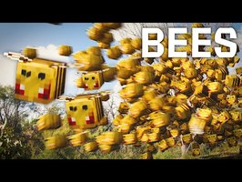 How Bees in Minecraft Should Be   Real Life Animation