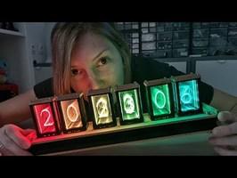 Fabriquer une horloge en faux tubes Nixie