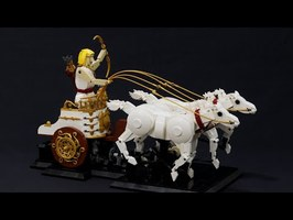 Apollo LEGO Kinetic Sculpture