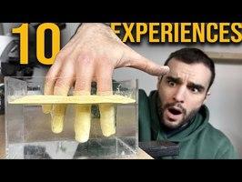 10 expériences impressionnantes ! (que vous pouvez refaire)