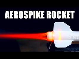 Aerospike Rocket Engine (3D Printed)