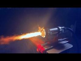 Aerospike Hybrid Rocket Engine (3D printed)