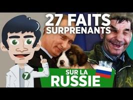 27 FAITS SURPRENANTS SUR LA RUSSIE !!