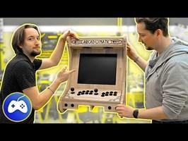 ENFIN !! FIN DE LA BORNE ARCADE BARTOP EN CHÊNE FULL CNC !!! DIY Borne d'arcade bartop [EP03]