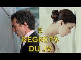 5 regrets du Jeu Vidéo