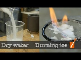 Dry water and Burning ice: all about gas hydrates