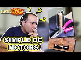 Super Simple DC Motor