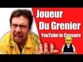@Joueur Du Grenier : Pourquoi YouTube le Censure?
