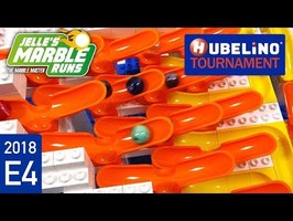 Hubelino Marble Race Tournament 2018 - E4 Halfpipes
