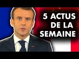 Les annonces de Macron, le RIC, Strasbourg, Brexit... 5 actus de la semaine