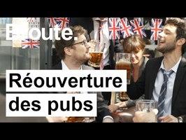 Réouverture des pubs anglais ! (ft Paul Taylor) - Broute - CANAL+