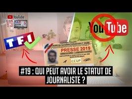 YouTube VS la télé #19 : Un youtuber peut-il être journaliste ?
