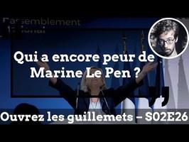 Usul. Qui a encore peur de Marine Le Pen ?