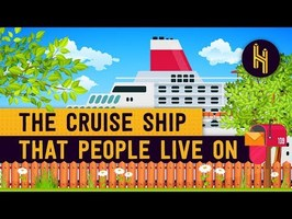 The Cruise Ship That People Live On