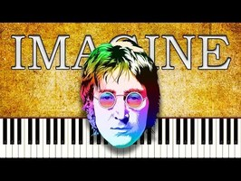 JOHN LENNON - IMAGINE - Piano Tutorial