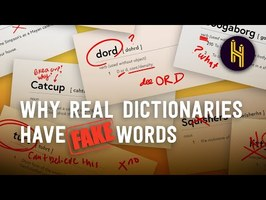 Why Real Dictionaries Have Fake Words