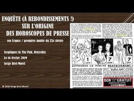 Serge Bret-Morel : enquête sur l'origine des horoscopes (France), oubliez ce que vous avez imaginé !