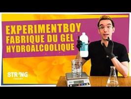 ExperimentBoy fabrique du gel Hydroalcoolique pour exploser les virus (ft Tania Louis) - ChimFizz