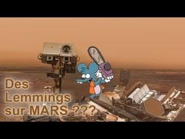 Des lemmings sur Mars ???