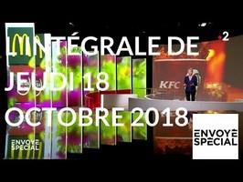 Envoyé spécial de jeudi 18 octobre 2018 (France 2)