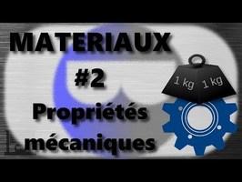Materiaux 02 Propriétés mécaniques