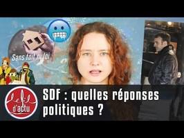 SDF : QUELLES RÉPONSES POLITIQUES ?