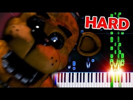 The Living Tombstone - Five Nights at Freddy's 1 Song - Piano Tutorial