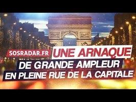SOS RADAR, L'ARNAQUE EN PLEIN PARIS - VOTRE PERMIS EN DANGER