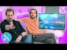 On fait DISPARAITRE notre TV !!! DIY Support TV Plafond