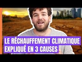 Le réchauffement climatique expliqué en 3 causes