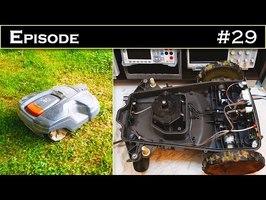 EPISODE 29 : Décorticage et réparation d'un Robot tondeuse