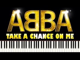 ABBA - TAKE A CHANCE ON ME - Piano Tutorial