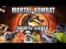 Mortal Kombat Theme but it sounds like animals