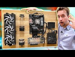 On COMMENCE le WATERCOOLING du PC BOIS !! FOUUU !! WallMod DeskMod [EP03]