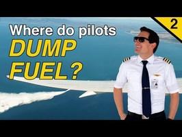 WHERE do pilots DUMP FUEL? part 2 Explained by CAPTAIN JOE