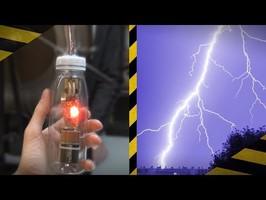 Fabriquer un PRÉDICTEUR de foudre ! ⚡️ Détecteur de polarité électrostatique
